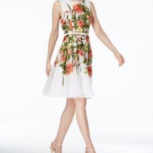 Tommy Hilfiger Floral Bloom Fit & Flare size 14